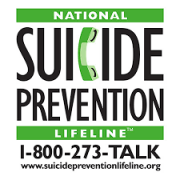 Suicide Prevention Lifeline: 1-800-273-TALK